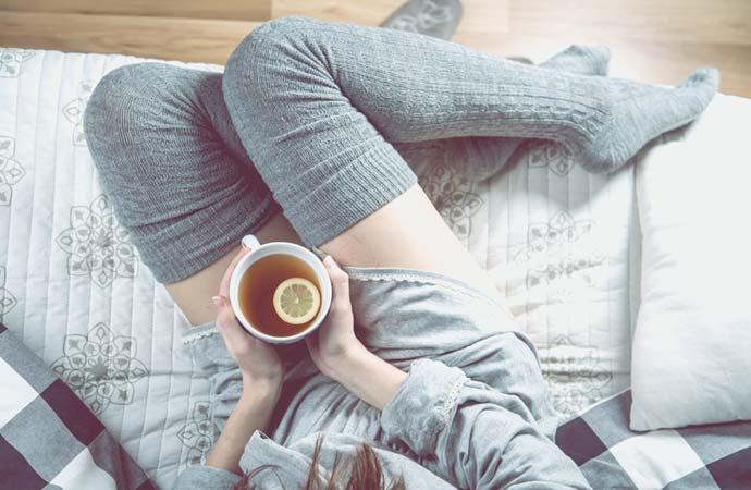 風邪を理由にゆっくり休んでみた