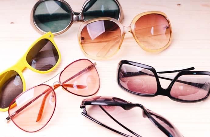 UVカットサングラス
