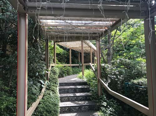 パークコテージ中庭