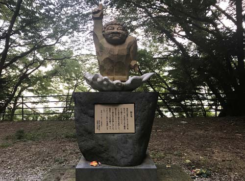 楯岩鬼怒姫神社:鬼怒太