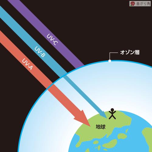 紫外線の長さ