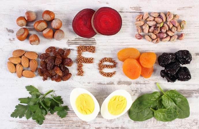 貧血を改善する栄養素