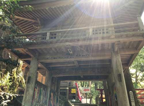 鷲子山上神社:本殿