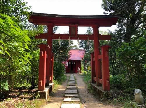鷲子山上神社:奥山稲荷