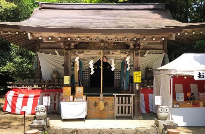 鷲子山上神社:本宮神社