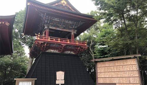 成田山新勝寺:鐘楼