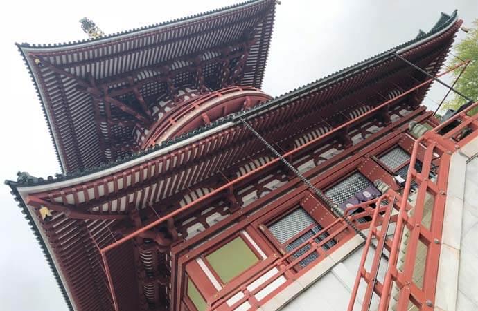 成田山新勝寺:平和大塔