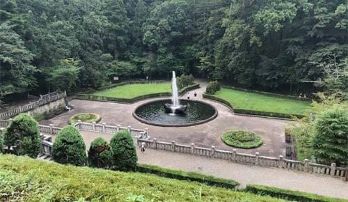 成田山公園:西洋庭園