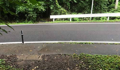 秋保大滝:滝つぼへの山道